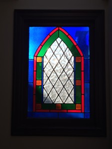 This window was on the Broker Tour this week. Well I mean the  house was....